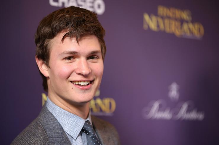 Actor Ansel Elgort attends the opening night of 'Finding Neverland' at Lunt-Fontanne Theatre on April 15, 2015 in New York City
