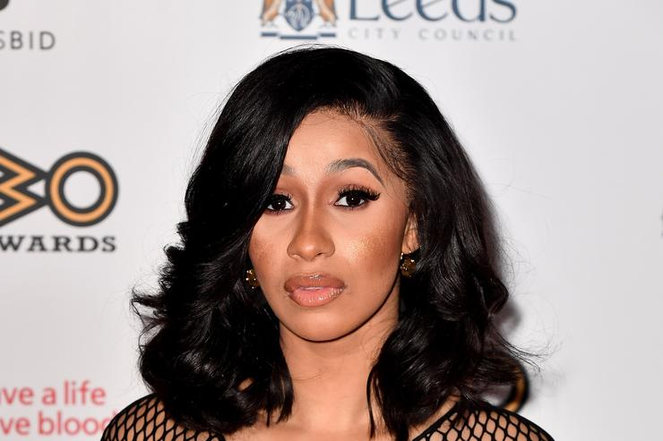 Cardi B at MOBO awards