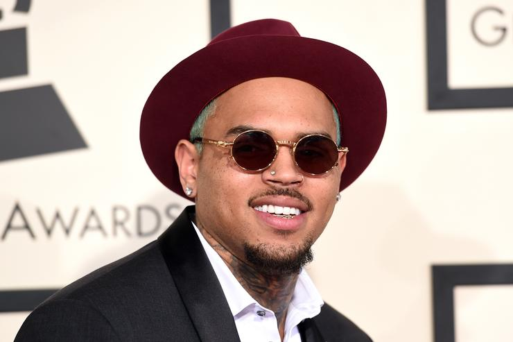 Singer Chris Brown attends The 57th Annual GRAMMY Awards at the STAPLES Center on February 8, 2015 in Los Angeles, California
