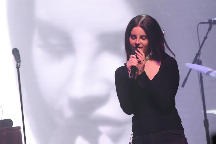 Singer Lana Del Rey performs at Terminal 5