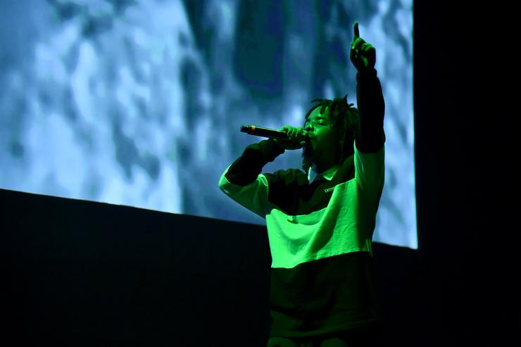 Earl Sweatshirt performs onstage during Orion's Rise: A Special Performance with Solange and The Sun Ra Arkestra at Radio City Music Hall on October 3, 2017 in New York City
