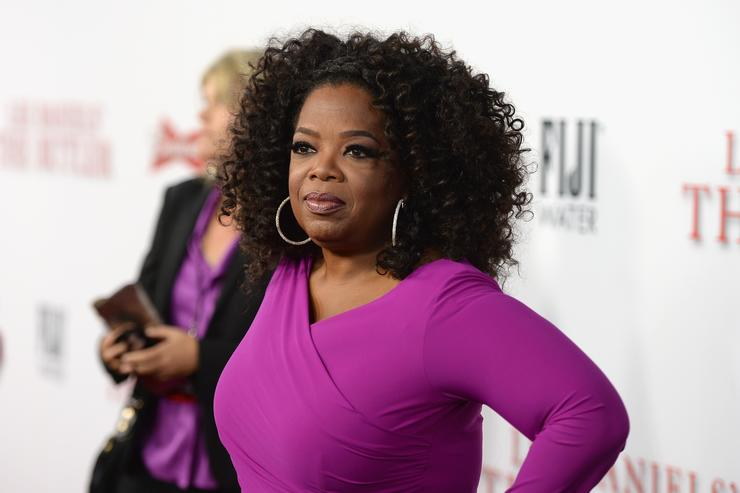 Oprah Winfrey attends the Los Angeles premiere of 'Lee Daniels' The Butler' at Regal Cinemas L.A. Live on August 12, 2013 in Los Angeles, California