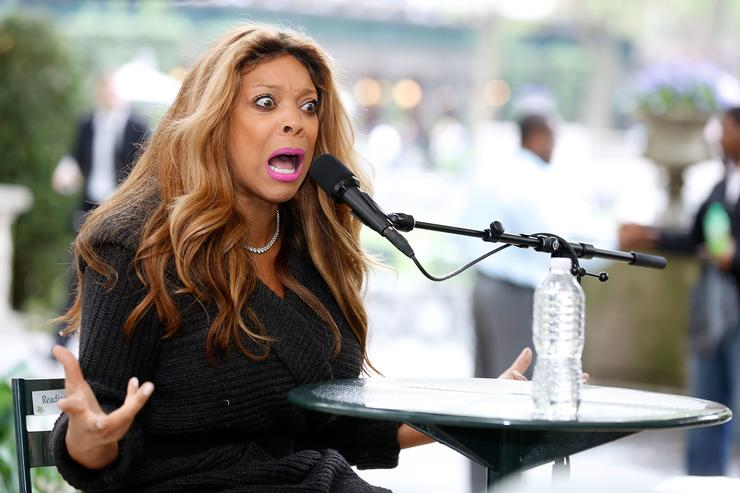 Media personality/author Wendy Williams speaks to the audience at The Bryant Park Reading Room on May 15, 2013 in New York City
