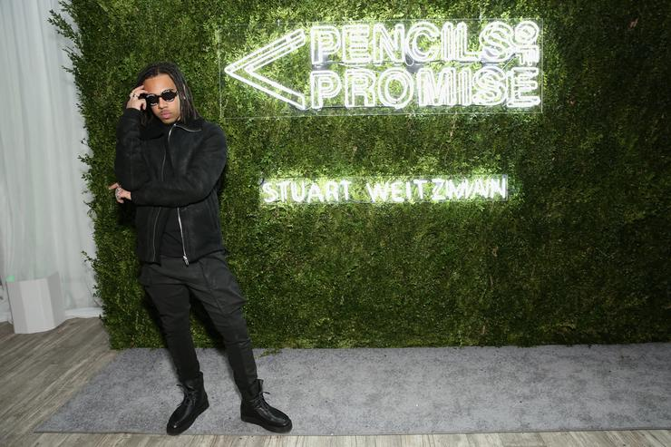 Rapper Vic Mensa attends the Pencils of Promise Annual Gala 2017 in Central Park on December 7, 2017 in New York City