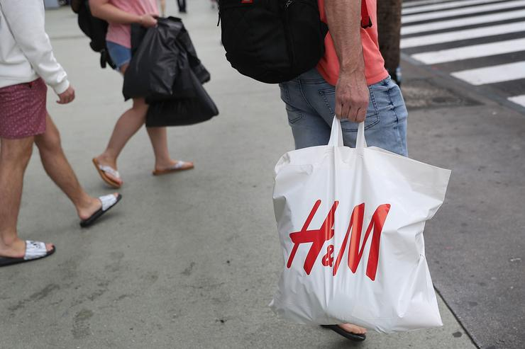 A H&M clothing store is seen on January 9, 2018 in Miami Beach, Florida. H&M apologized on Monday after the Swedish clothing retailer's website in Britain showed a black child model wearing a hooded sweatshirt that said 'coolest monkey in the jungle.'