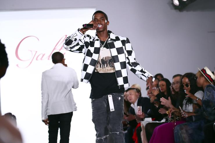 Recording artist Christian Combs performs at the Galtiscopio - Front Row/Backstage - September 2017 - New York Fashion Week: First Stage at The Gallery at The Dream Downtown Hotel on September 8, 2017 in New York City