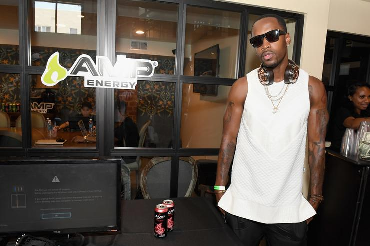 Recording artist Safaree Samuels attends Next Level Presented By AMP Energy, A Hip Hop Gaming Tournament at Rostrum Records on June 23, 2016 in Los Angeles, California