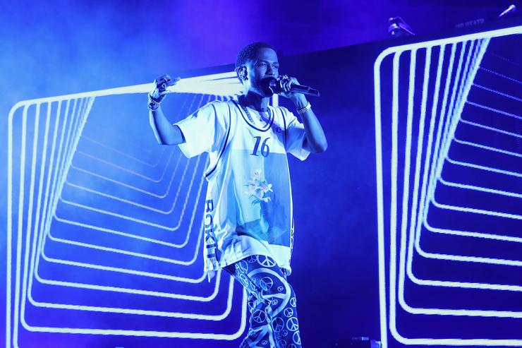 Big Sean performs onstage at Pandora Sounds Like You Summer at Los Angeles Memorial Coliseum on July 29, 2017 in Los Angeles, California
