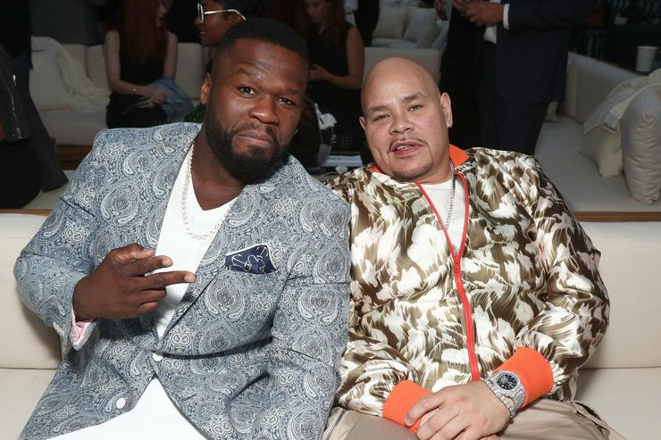 Curtis '50 Cent' Jackson and Fat Joe attend STARZ 'Power' Season 4 L.A. Screening And Party at The London West Hollywood on June 23, 2017 in West Hollywood, California
