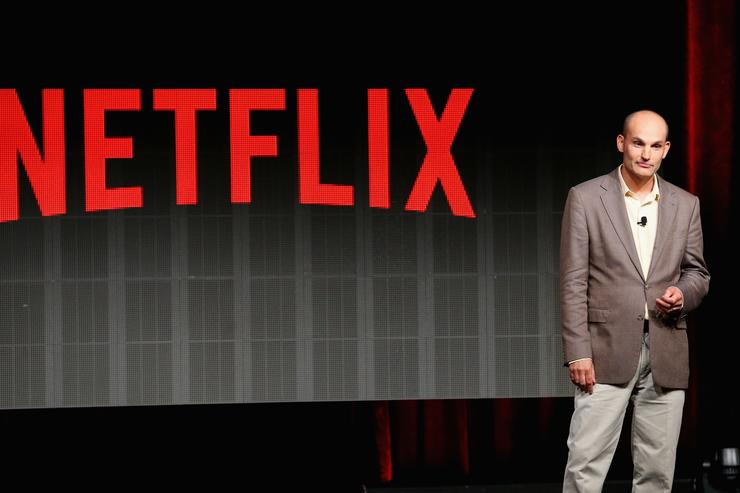 Netflix VP of Product Innovation Todd Yellin speaks onstage during the Your Netflix discussion at the Netflix portion of the 2015 Summer TCA Tour at The Beverly Hilton Hotel on July 28, 2015 in Beverly Hills, California