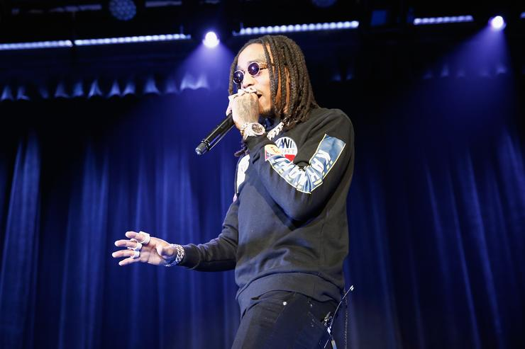 Quavo involved in brawl at Grammys party