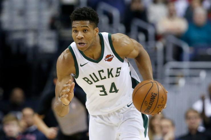 Lakers fined $50000 for tampering with Giannis Antetokounmpo