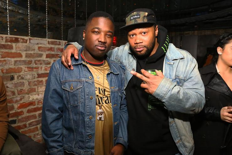 Troy Ave and BlogXilla