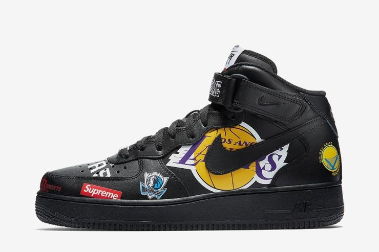 0373d318511 Supreme x NBA x Nike Air Force 1 Official Images Revealed