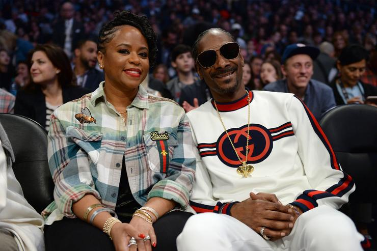Snoop Dogg at all star game