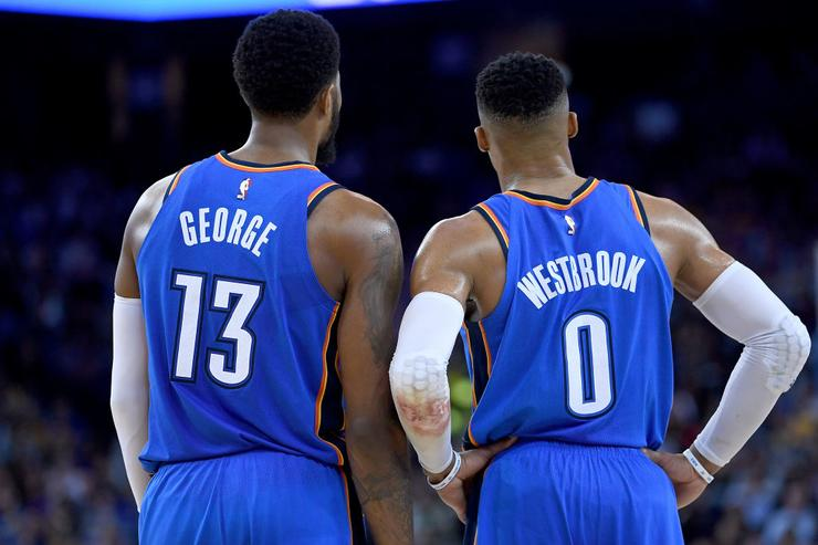 Paul George x Russell Westbrook
