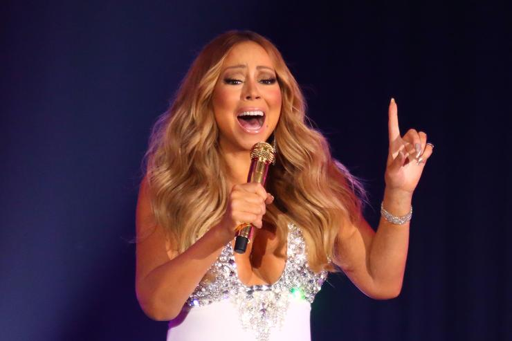Mariah Carey On The Grammys: 'Frankly, I Don't Give A Damn'