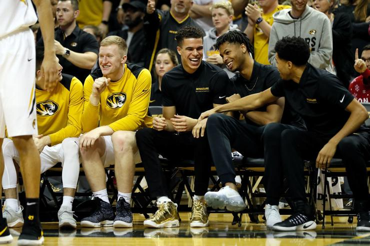 Fifth-Seeded Mizzou Prepares for SEC Tournament in St. Louis