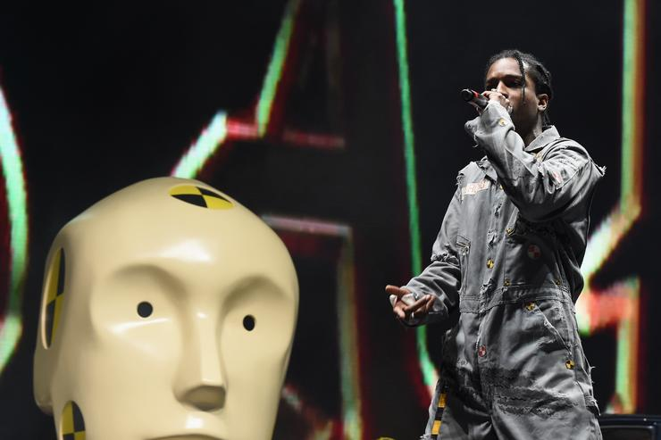 A$AP Rocky Keeps New Music Hype Going After