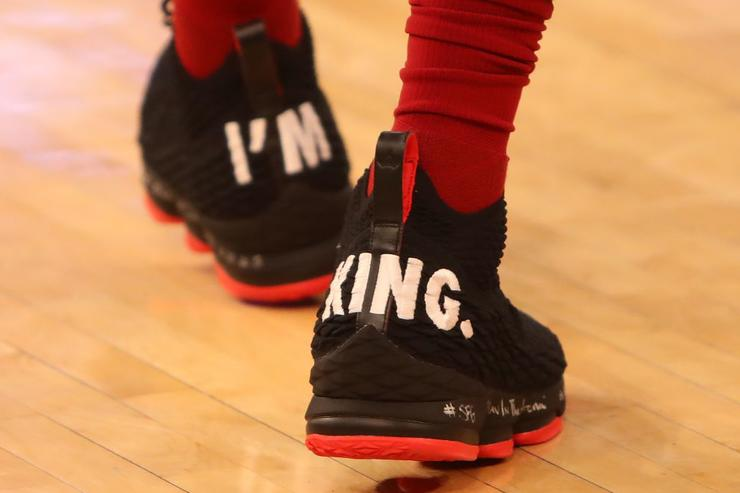 """I'm King"" LeBron 15"