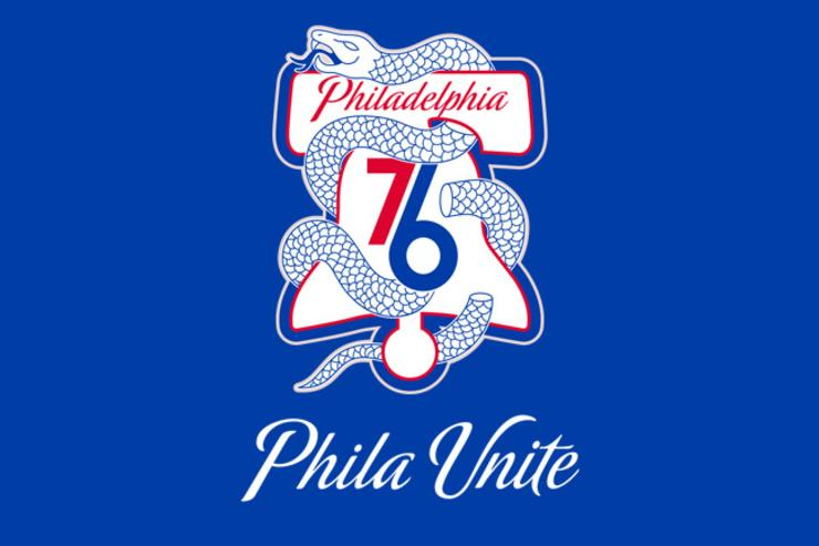 Sixers playoffs logo