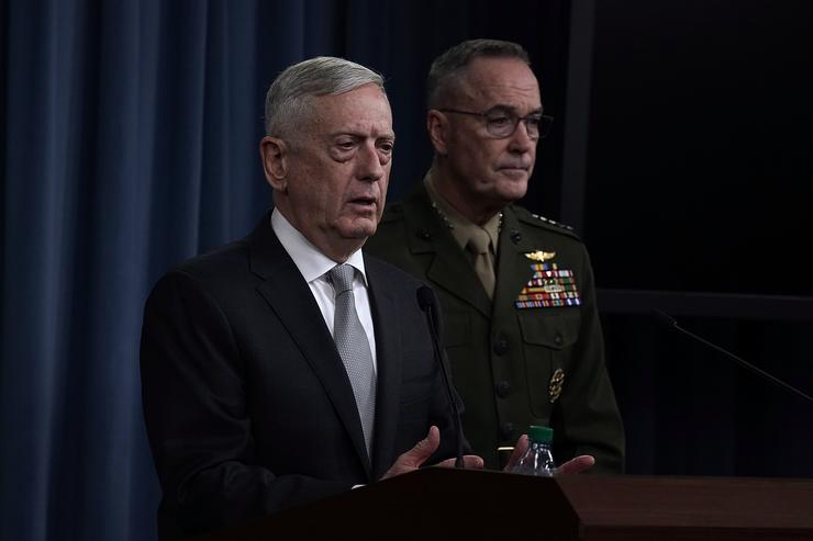 U.S. & allies launch 'precision strikes' on Syria