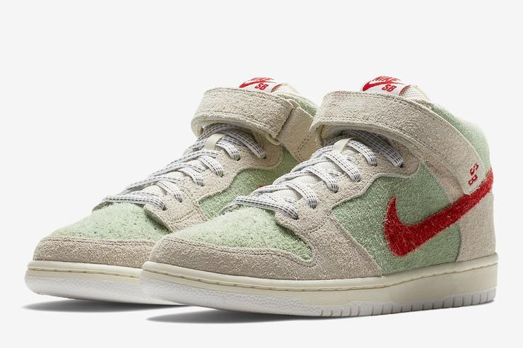 "Nike SB Dunk Mid ""White Widow"""