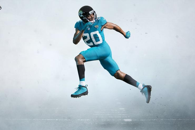 Jacksonville Jaguars unveil 'no-nonsense' uniforms, helmets for 2018