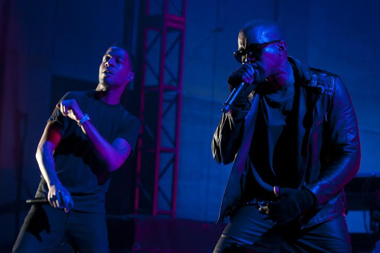 Kanye West and Kid Cudi to hold album-listening event