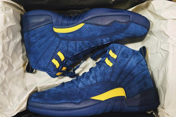 Michigan Air Jordan 12