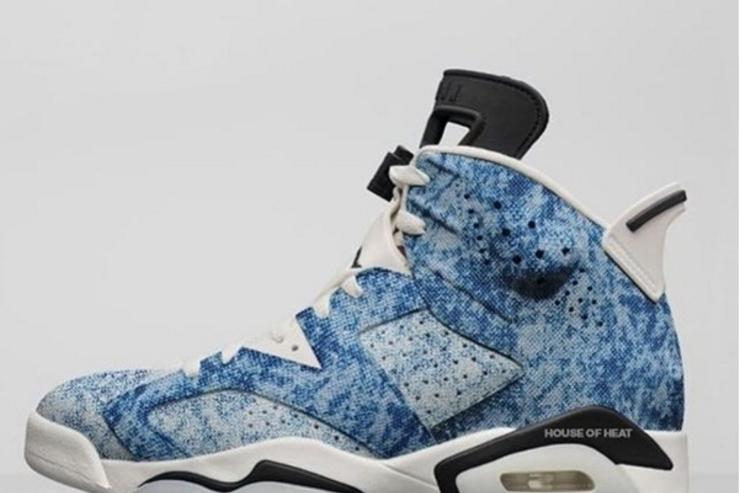 Acid Wash Denim AJ6