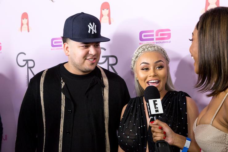 Rob Kardashian Thinks Blac Chyna Tried To Ruin His Father's Day