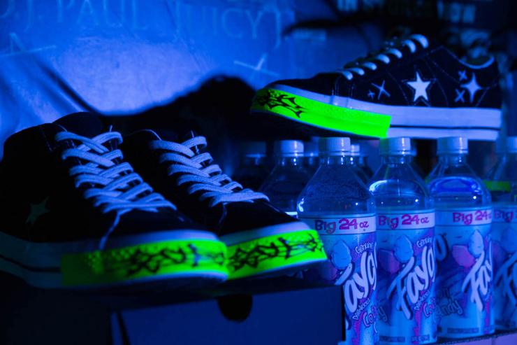 Yung Lean Converse One Star