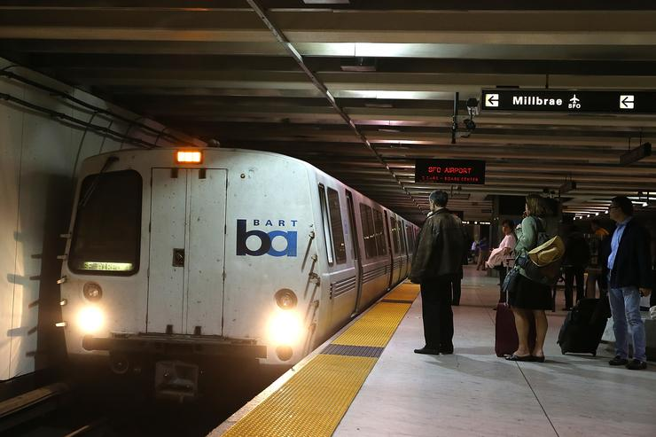 BART train station