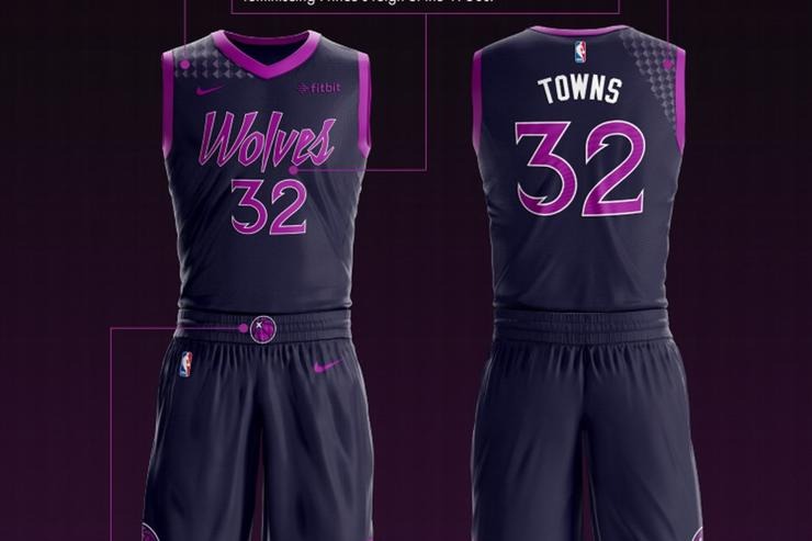 Timberwolves Pay Homage To Prince With City Edition Uniform bad7f050c