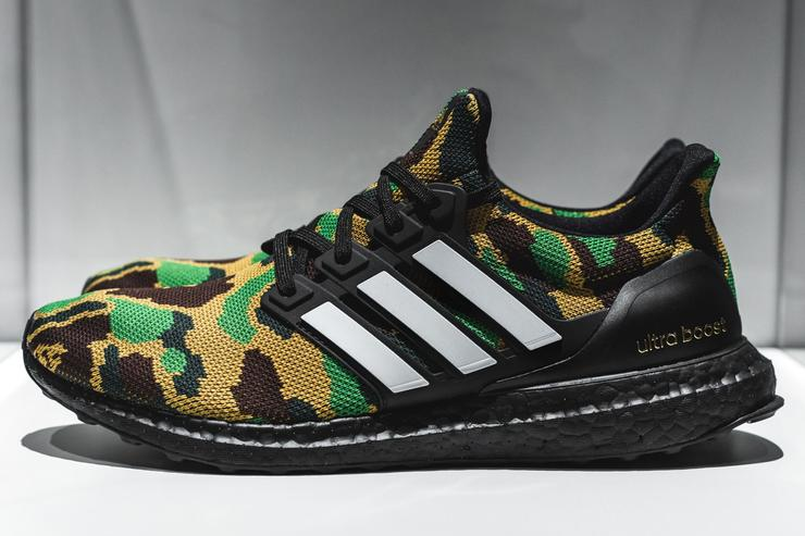 BAPE x Adidas UltraBoost Releasing In Two Colorways  First Look 17c2c27d27ac