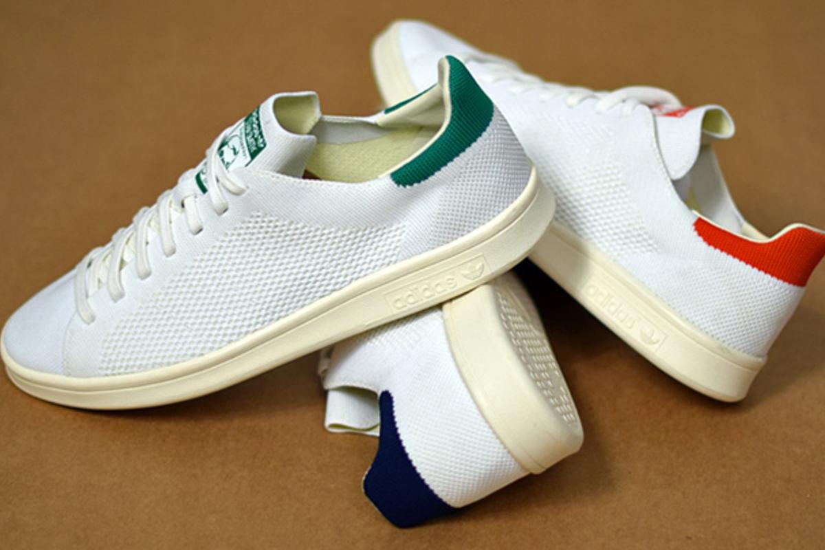 new arrival 280d2 1474d Adidas Uses Primeknit For A New Type Of Stan Smith