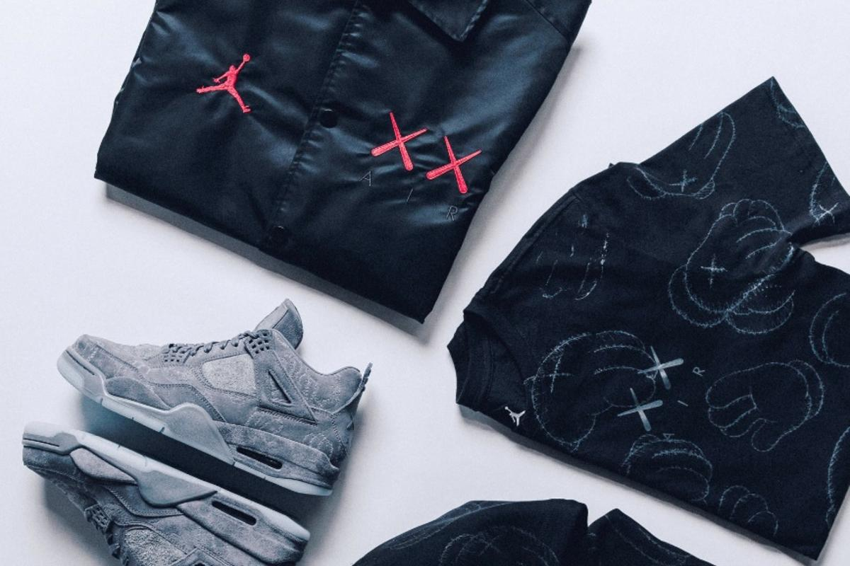 5e5d34b2a5a Jordan Brand x KAWS Capsule Collection Officially Revealed