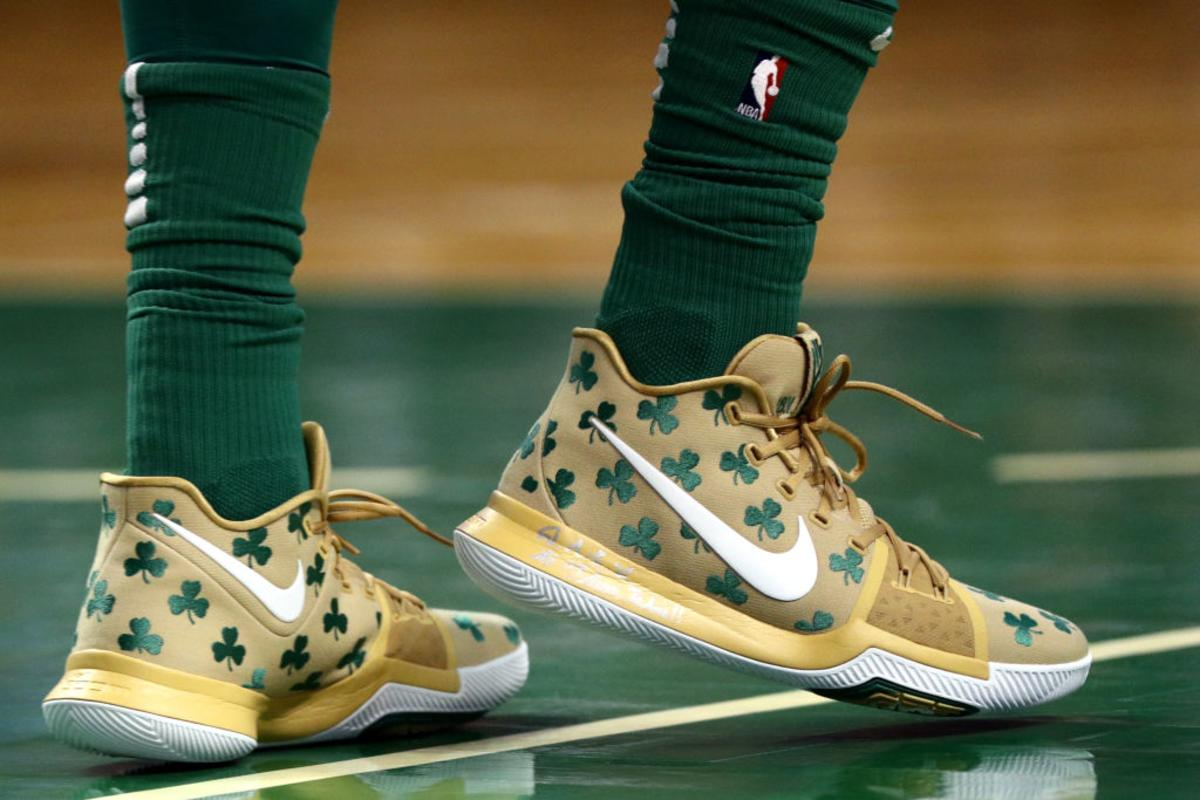 reputable site 045b6 5b8fd Nike, Kyrie Irving Launch Celtics-Inspired