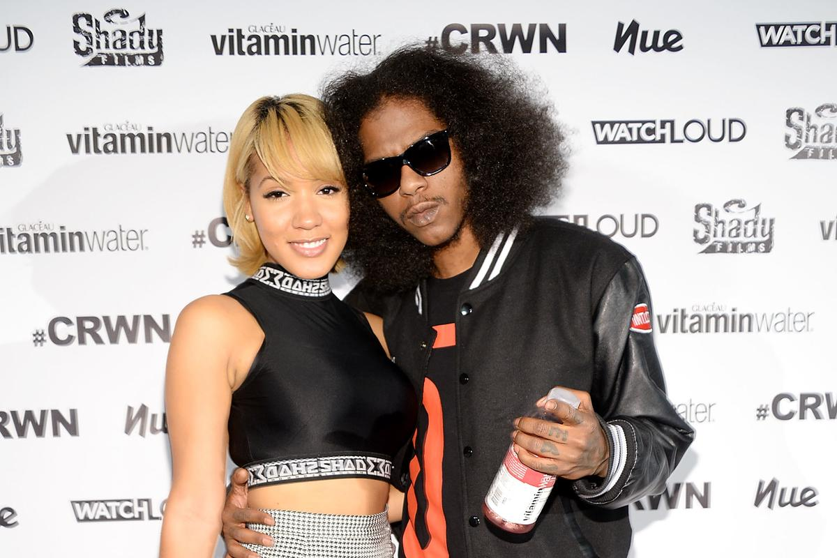 Ab-Soul with friendly, Girlfriend Yaris Sanchez