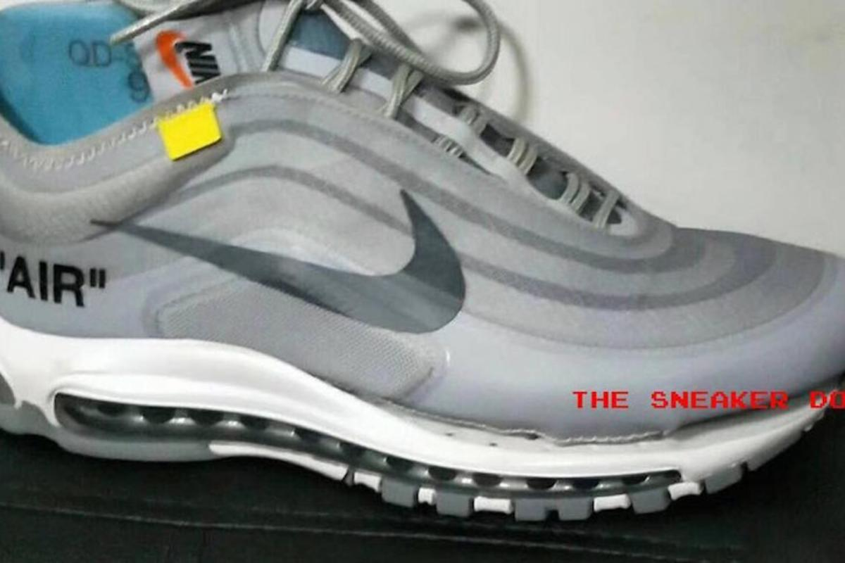 Off White x Nike Air Max 97 Surfaces In Grey Colorway
