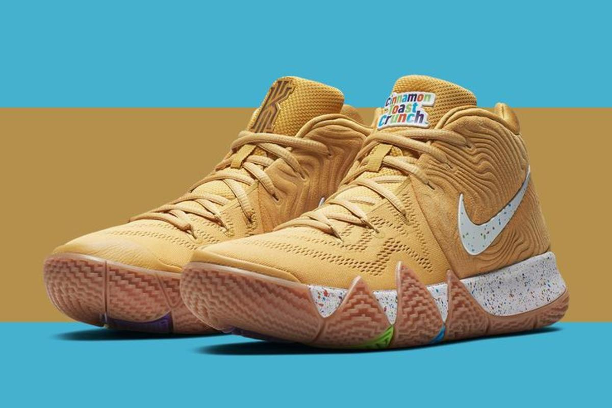 """sports shoes 30533 d6434 Nike Kyrie 4 """"Cereal Pack"""" New Release Details Announced"""