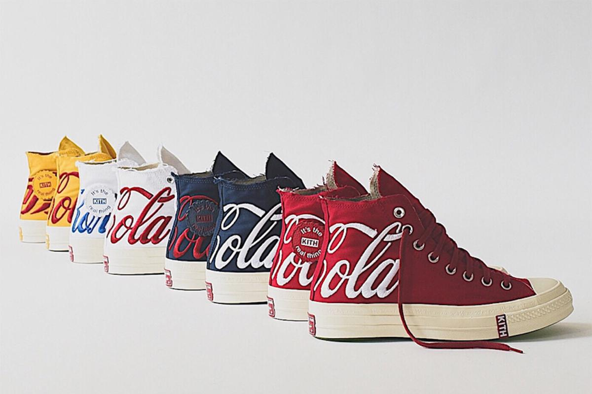 KITH x Coca Cola x Converse Collection Releasing This Week
