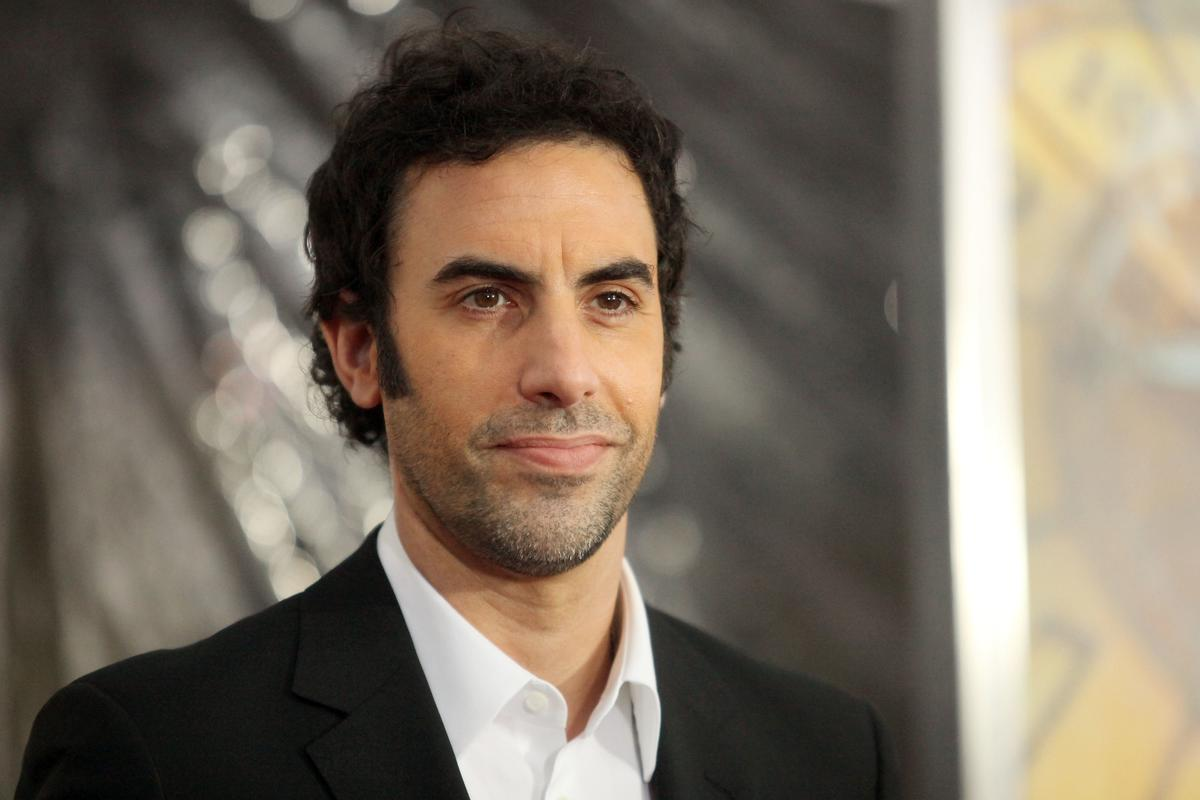 Sacha Baron Cohen Sets His Sights On Genius Founder Mahbod