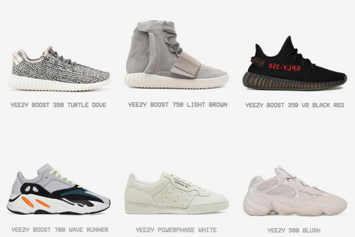 brand new 62d28 275f3 Full Adidas Yeezy Sneaker Archive Appears On Yeezy Supply ...
