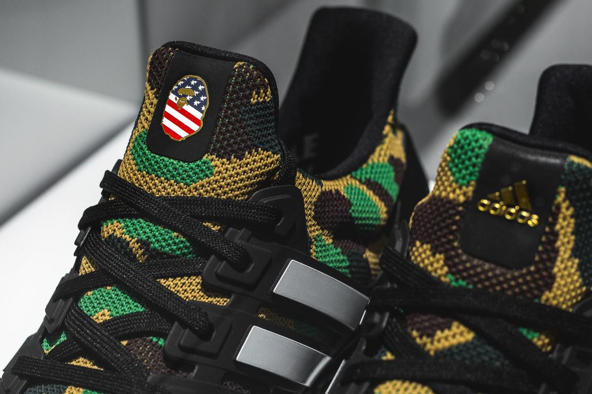 reputable site f3b59 37774 BAPE x Adidas UltraBoost Releasing In Two Colorways: First Look