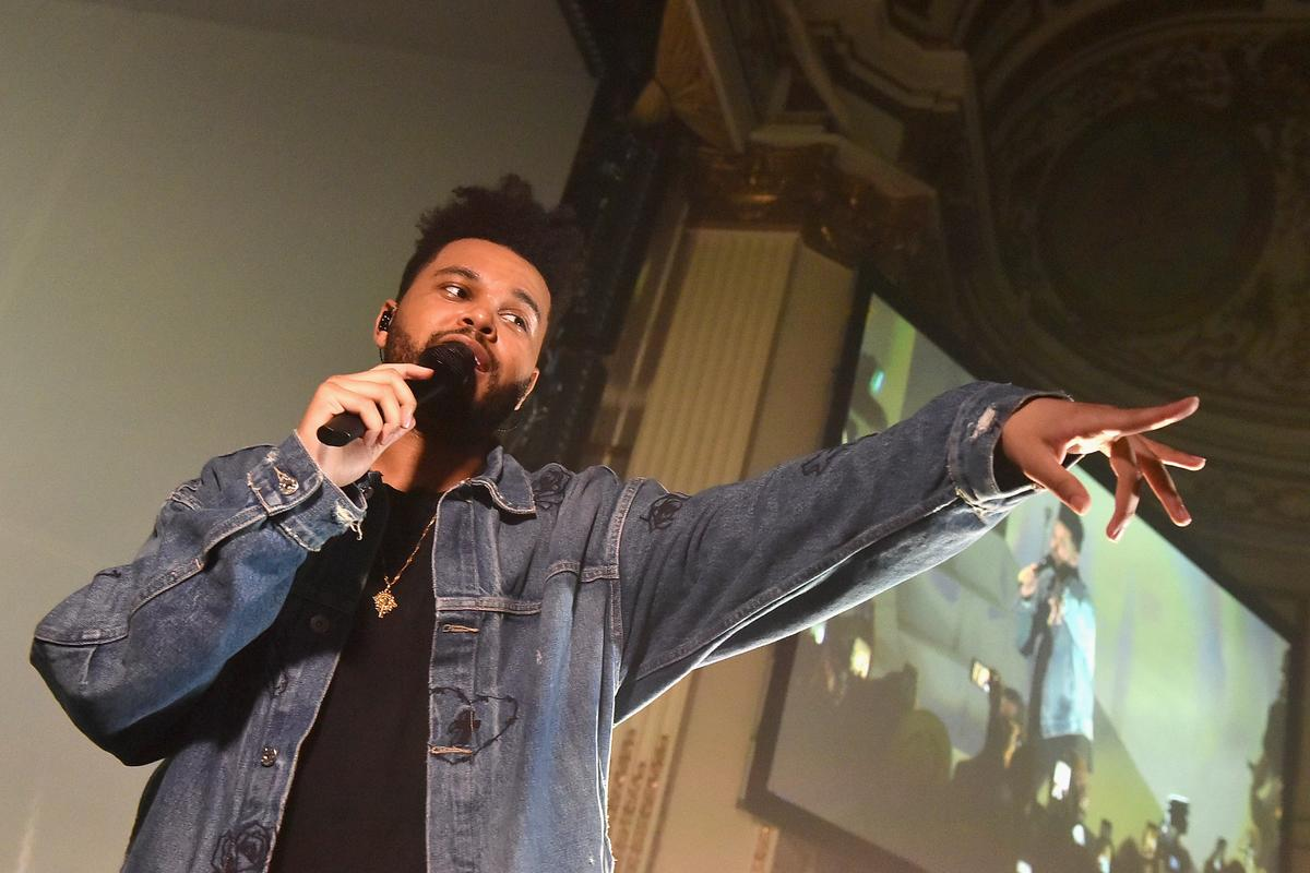 458c5ac3c The Weeknd Sued For Allegedly Stealing