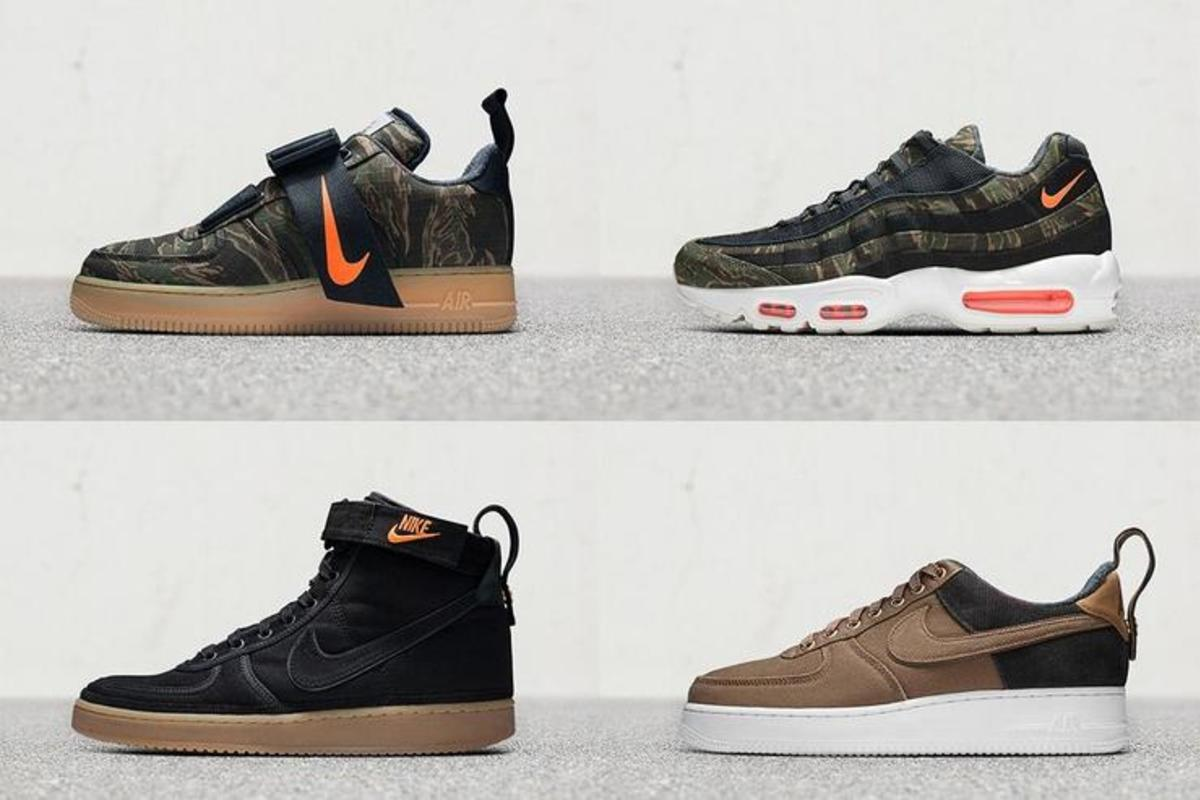 Carhartt WIP x Nike Sneaker Collection Drops Today: Purchase