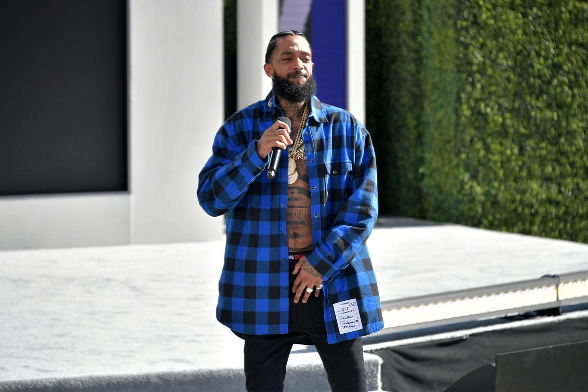 the latest 41f55 380fc Nipsey Hussle Is Dominating iTunes & Amazon's Music Charts ...