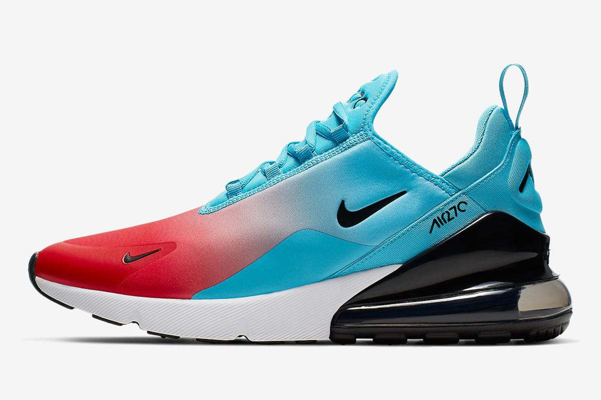Nike Air Max 270 University Red Blue Fury Available Now